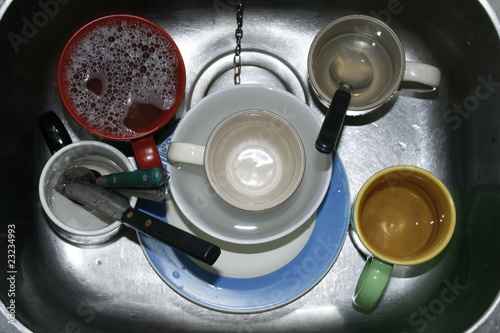 Washing Up in the Kitchen Sink