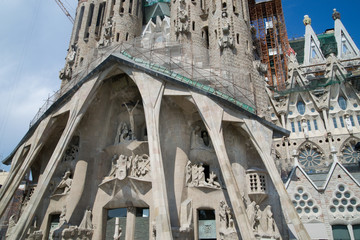 La Sagrada Familia, Passion Facade