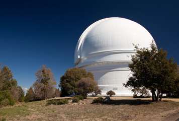 Dome of Mount Palomar Telescope