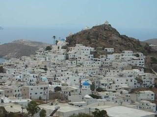 Greek Cyclades Ios island  architecture  Aegean Sea