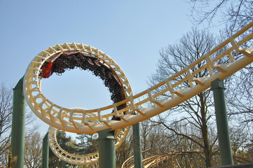 Parc d'attractions, looping