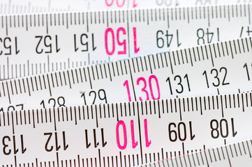 Centimetric ruler