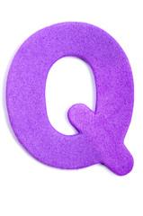 Foam letter Q