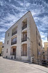 Typical house in Bari Oldtown. Apulia.