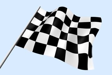 победа флаг гонки