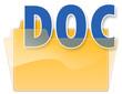 "Folder Icon ""DOC"""