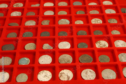 collection of ancient coins