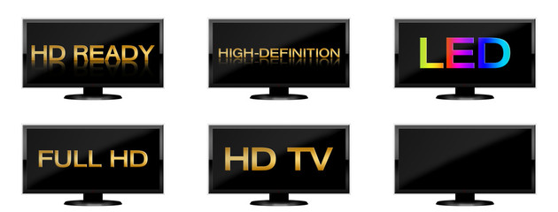 Flat Screen - HD-Set (01)