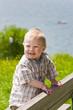 Little boy outdoor.