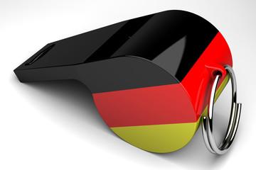 silbato alemán