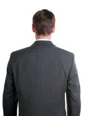 back of a businessman