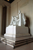 Abraham Lincoln statue in the Lincoln Memorial