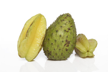 soursop star fruit