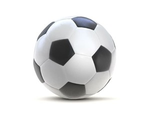 fußball football 3d loop