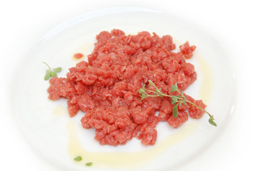 carne battuta al coltello