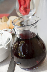 carafe red french table wine ajaccio corsica