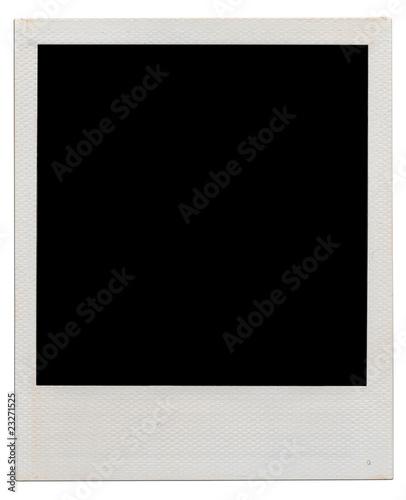 Leinwanddruck Bild polaroid