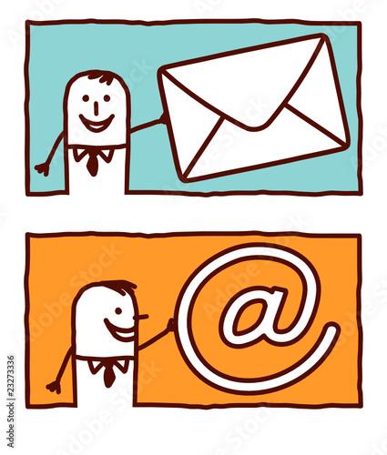 mail & at
