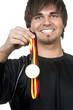 Medaille Siegertyp mit Medaille