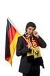 trauriger Deutschland Fan