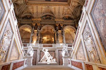 Upstair in a  Kunsthistorisches museum, Vienna