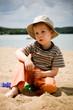 Little boy on beach