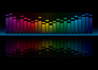 Colorful Equalizer Display