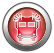 "Glossy 3D effect button ""Fire Engine"""