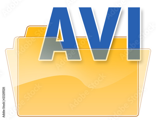 "Folder Icon ""AVI"""