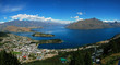 Queenstown panorama, New Zealand