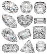 Diamond shapes. - 23286349