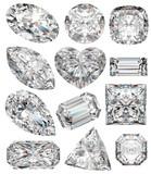Diamentowe kształty.