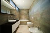 Fototapety modern bathrom