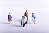 miniature travel poster