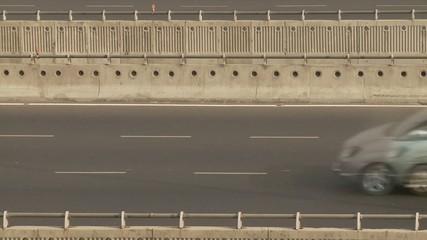 Zeitraffer Autobahn, Verkehr