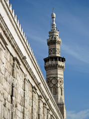Minaret in Damascus