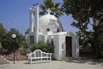 small cyprus church