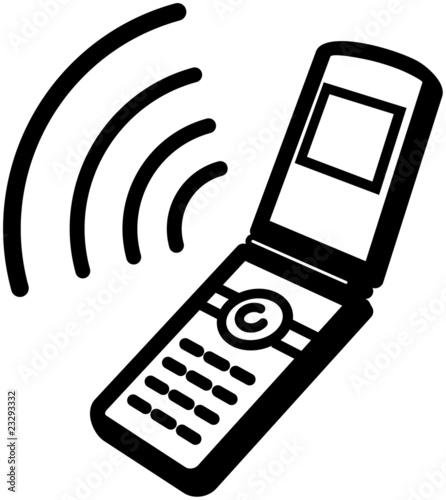 Cell Phone Ringing Clip Art