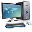 Realistic Desktop Computer