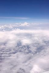 Nuages à 10 000 mètres d'altitude