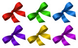 set of colourful ribbons