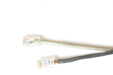 Two computer Network Cables