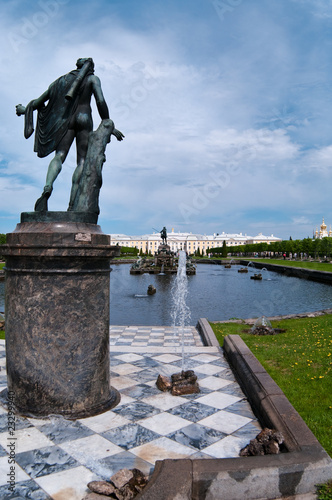 The Palaces, Fountains, and Gardens of  Peterhof Grand Palace
