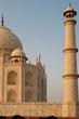 Closeup of Sunset in Empty Taj Mahal