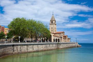 Iglesia de Santa Catalina, Gijon, Asturias, Spain