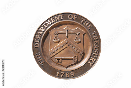 United States Treasury Department logo
