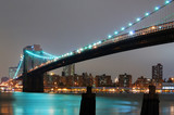 NEW YORK CITY WITH BROOKLYN BRIDGE