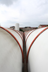 industrial heating pipes