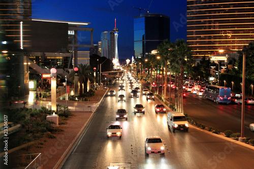 Fototapeta Night street traffic