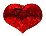 Broken Heart - unrequited love, disease, death or pain poster